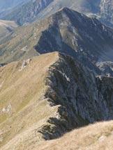 Via Normale Monte Azzarini (o Fioraro) - La lunga cresta