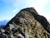 Via Normale Monte Stavello di Pedesina - Sulla cresta SW