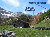 Via Normale Monte Rotondo - In salita, all'inizio dei pascoli