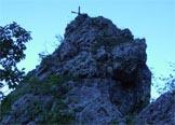 Via Normale Gusela Val Goccia - Dalla selletta il tratto finale della salita