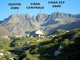 Via Normale Cima di Malvedello - Immagine ripresa dall'Alpe Visogno (q. 2003)