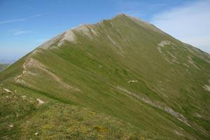 Via Normale Monte Priora - Cresta Nord