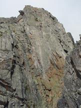 Via Normale Hochschijen-Cresta Sud - La placca del sesto tiro
