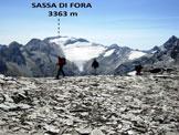 Via Normale Piz da la Margna - Spalla SE - Sulla cresta sommitale