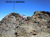 Via Normale Piz da la Margna - Cresta SSE - Pietro, sulla cresta SSE