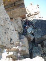 Via Normale Punta Four� - Cresta SE - L� adrenalinica uscita in vetta