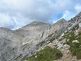 Via Normale Schenon del Latemar - Verso la cima del Latemar