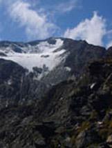 Via Normale Orecchia di lepre - La cima vista dal Wintersattel