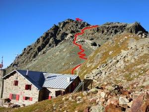 Via Normale Monte delle Forbici