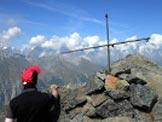 Via Normale Monte Colmet - Il M. Bianco dalla vetta