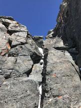 Via Normale Rimpfischorn - Sulla bellissima cresta finale