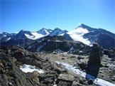 Via Normale Punta di Finale cresta Est - Il luogo di ritrovamento dell´Uomo del Similaun