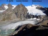 Via Normale Cima Fontana - Cresta SW - Il Ghiacciaio di Fellarìa E, dalla Cresta SW