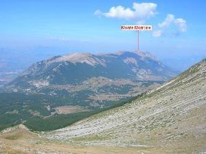 Via Normale Monte Morrone