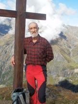 Via Normale Monte Cimone - la Croce di vetta