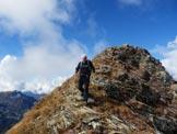 Via Normale Monte Cimone - Gigi appena sotto la Cima