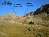 Via Normale Cima di Fellaria - Immagine ripresa poco sopra l'Alpe Fellarìa