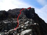 Via Normale Cima di Fellaria - La facile cresta NNW