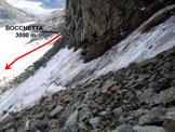 Via Normale Cima di Fellaria - Versante NE - Sui detriti della parte superiore della rampa