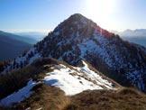 Via Normale Monte Rolla - Sulla cresta NW del Monte Rolla