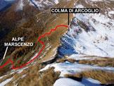Via Normale Monte Canale - Cresta WNW - In discesa sulla cresta WNW