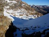 Via Normale Monte Triomen - Valle di Ponteranica e i laghi ghiacciati