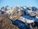 Via Normale Monte Triomen - Panorama dalla cima