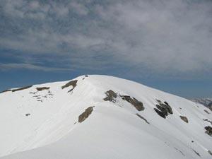 Via Normale Monte Nebius