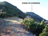 Via Normale Cima di Fiorina - In salita, poco prima del Passo di Fiorina