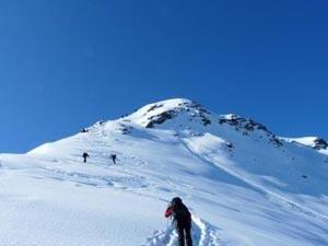 Via Normale Monte Bourel