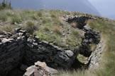 Via Normale Cima Rovaia - Fortificazioni
