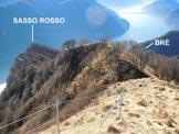 Via Normale Sasso Rosso - VN svizzera - Il Sasso Rosso, dalla cresta S del Monte Boglia