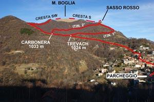 Via Normale Monte Boglia (o Colma Regia)