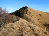 Via Normale Monte Boglia (o Colma Regia) - La vetta, dalla cresta SW