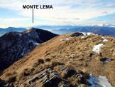 Via Normale Poncione di Breno - Il Monte Lema, dalla vetta del Poncione di Breno