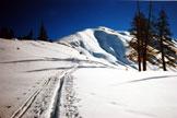 Via Normale Piz Arpiglia - La cresta NW del Piz Arpiglia, in salita sci-alpinistica
