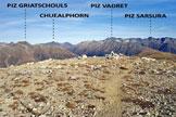 Via Normale Piz Arpiglia - Cresta S - L'ampia vetta