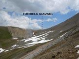 Via Normale Piz Uter - La Fuorcla Giavagl, dall'alta Val Peja