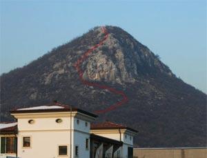 Via Normale Monte Budellone - Cresta Sud