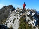 Via Normale Monte Forametto - In vetta