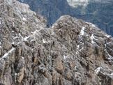 Via Normale Cresta Strenta - Tratto di cresta sotto la cima provenendo dal Piz da Lech Dlacé