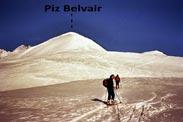 Via Normale Piz Belvair - I vasti spazi della groppa S