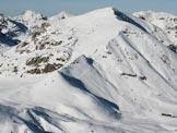 Via Normale Cima di Piazzo - La cima vista dal Monte Sodadura