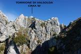 Via Normale Torrione di Valsolda - La cima W, salendo alla Cima E