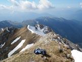 Via Normale Monte Secco - Ultimo tratto di cresta