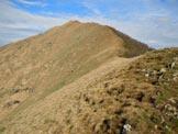 Via Normale Monte Gradiccioli - Cresta SE - Sulla cresta SE