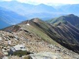 Via Normale Monte Gradiccioli - Cresta SE - La cresta SE, dai pressi della vetta