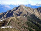 Via Normale Monte Gradiccioli - Cresta SE - Il Monte Tamaro, dalla vetta del Gradiccioli