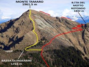 Via Normale Monte Tamaro - da SE