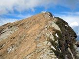 Via Normale Monte Tamaro - da SE - Sulla cresta ENE